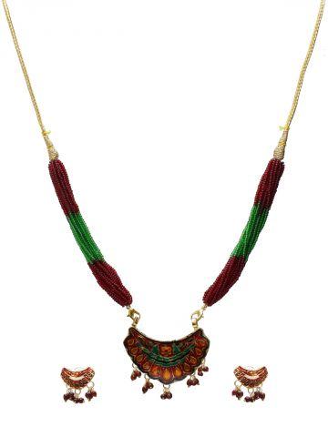 https://static1.cilory.com/101670-thickbox_default/elegant-meenakari-work-pendant-set-with-earrings.jpg