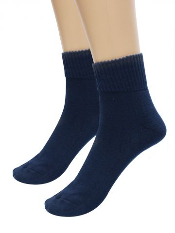 Turtle Navy Blue Sports Socks  Pack of 1