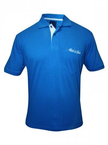 Monte Carlo Cloak & Decker Blue Polo T Shirt at cilory