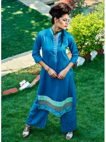 https://static7.cilory.com/118327-thickbox_default/affizah-blue-cotton-kurti.jpg