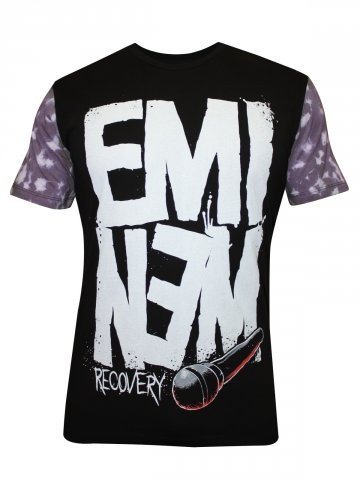 Eminem Black Round Neck T Shirt at cilory