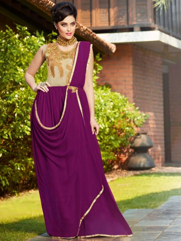 https://d38jde2cfwaolo.cloudfront.net/121348-thickbox_default/stylus-purple-party-wear-semi-stitched-long-gown.jpg
