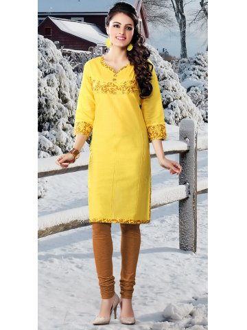 https://static1.cilory.com/123457-thickbox_default/kalaa-royal-yellow-lawn-cotton-kurti.jpg