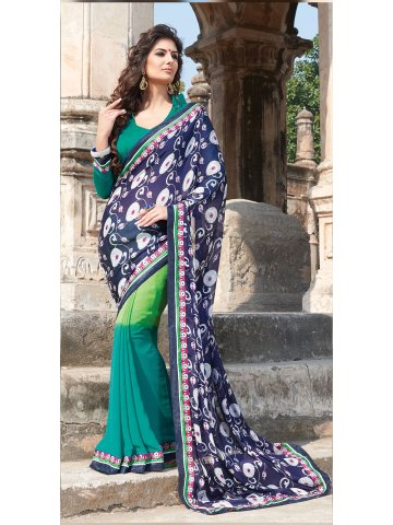 https://static3.cilory.com/124958-thickbox_default/georgette-printed-blue-sea-green-saree-with-unstitched-blouse.jpg