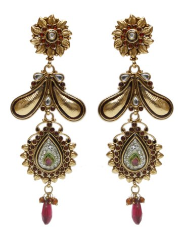 https://static9.cilory.com/129544-thickbox_default/temple-design-engraved-motiwork-earrings-with-red-drops.jpg
