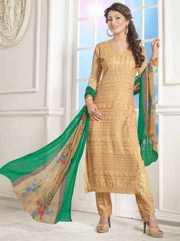 https://d38jde2cfwaolo.cloudfront.net/134237-thickbox_default/muskaan-brown-semi-stitched-embroidered-suit.jpg