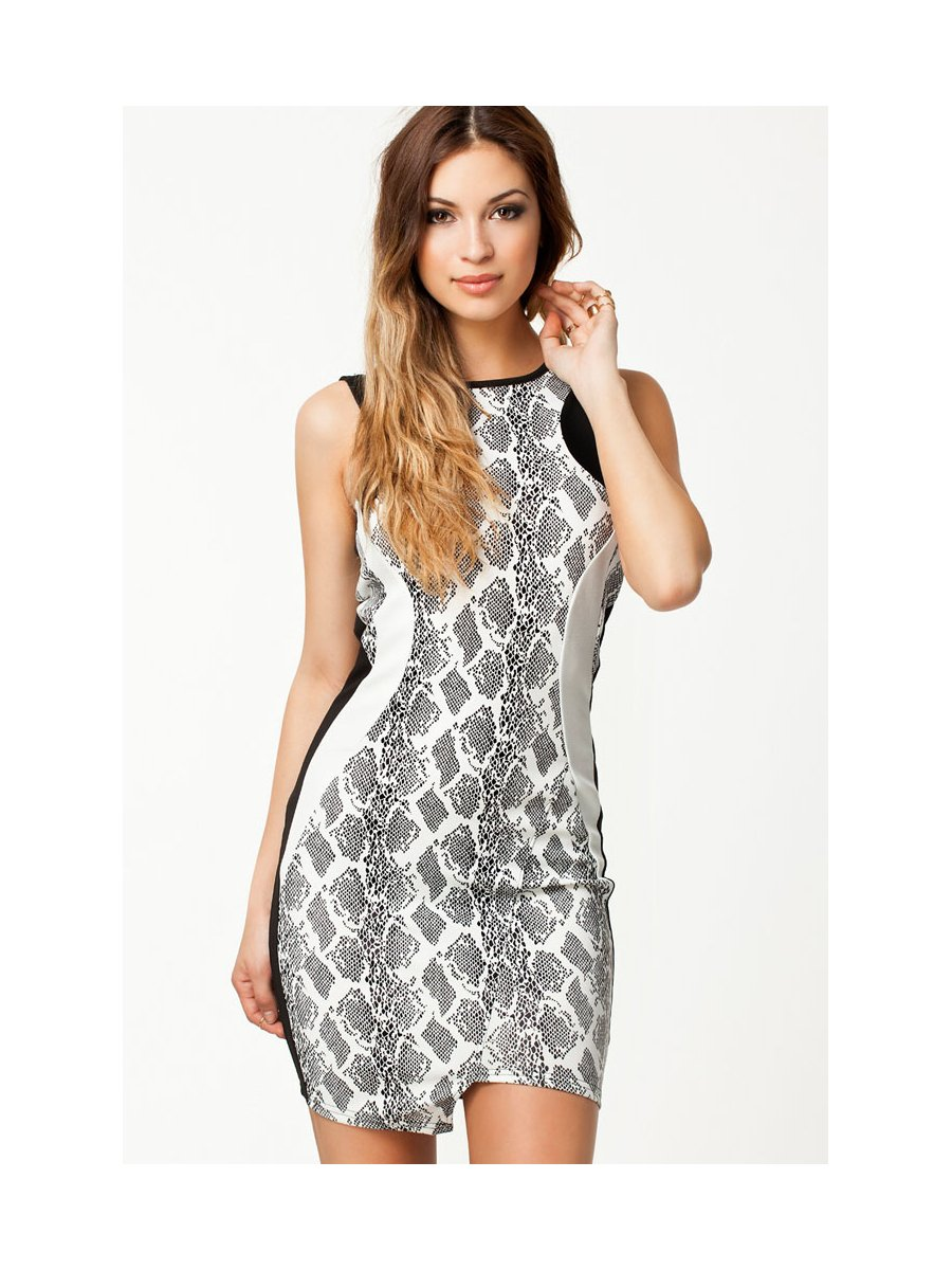 Snake Print Bodycon Mini Dress | E21612 | Cilory.com