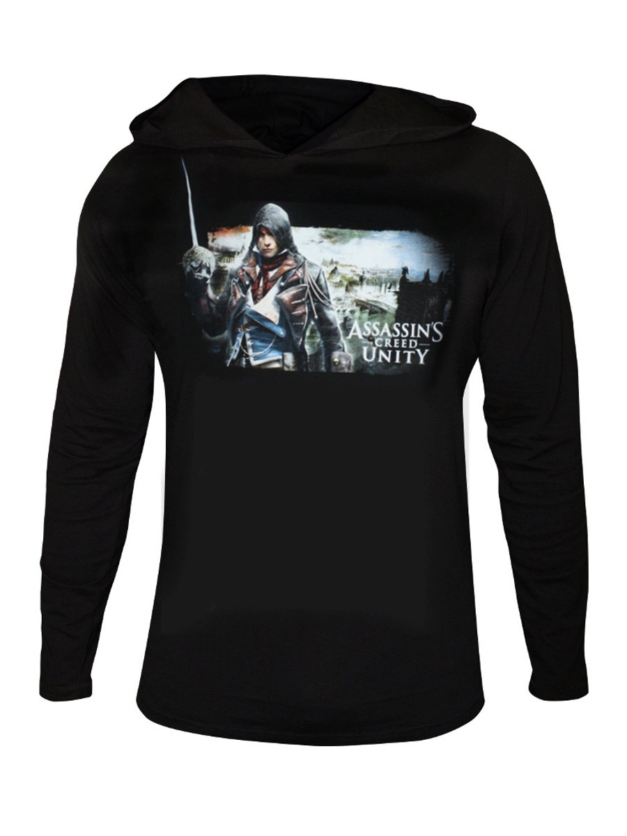 Buy t shirts online assassins creed black full sleeves for Buy t shirts online