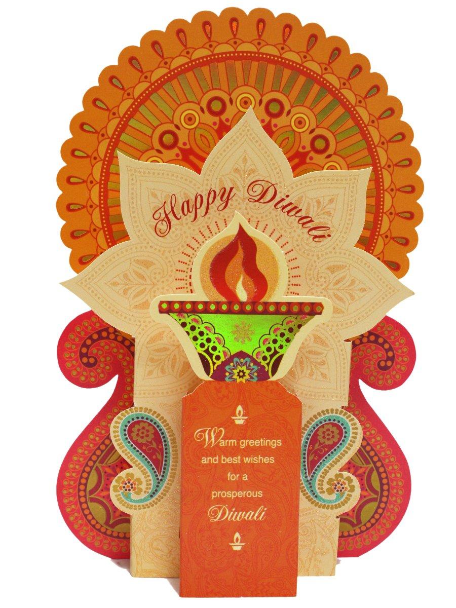 Archies Diwali Greeting Card Ar Bt47 Cilory