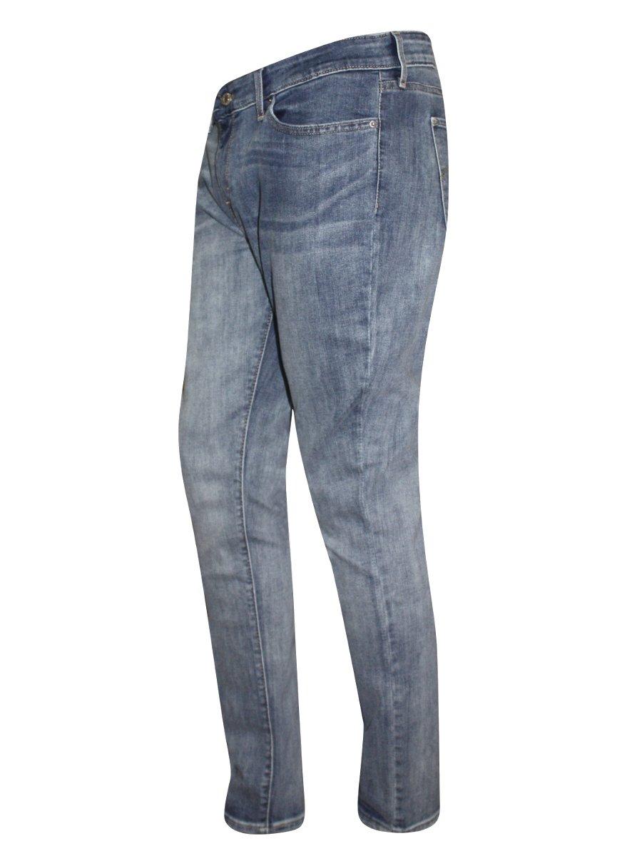 c2f7af0e Levis 711 Skinny Blue Stretch Jeans | 21306-0001 | Cilory.com