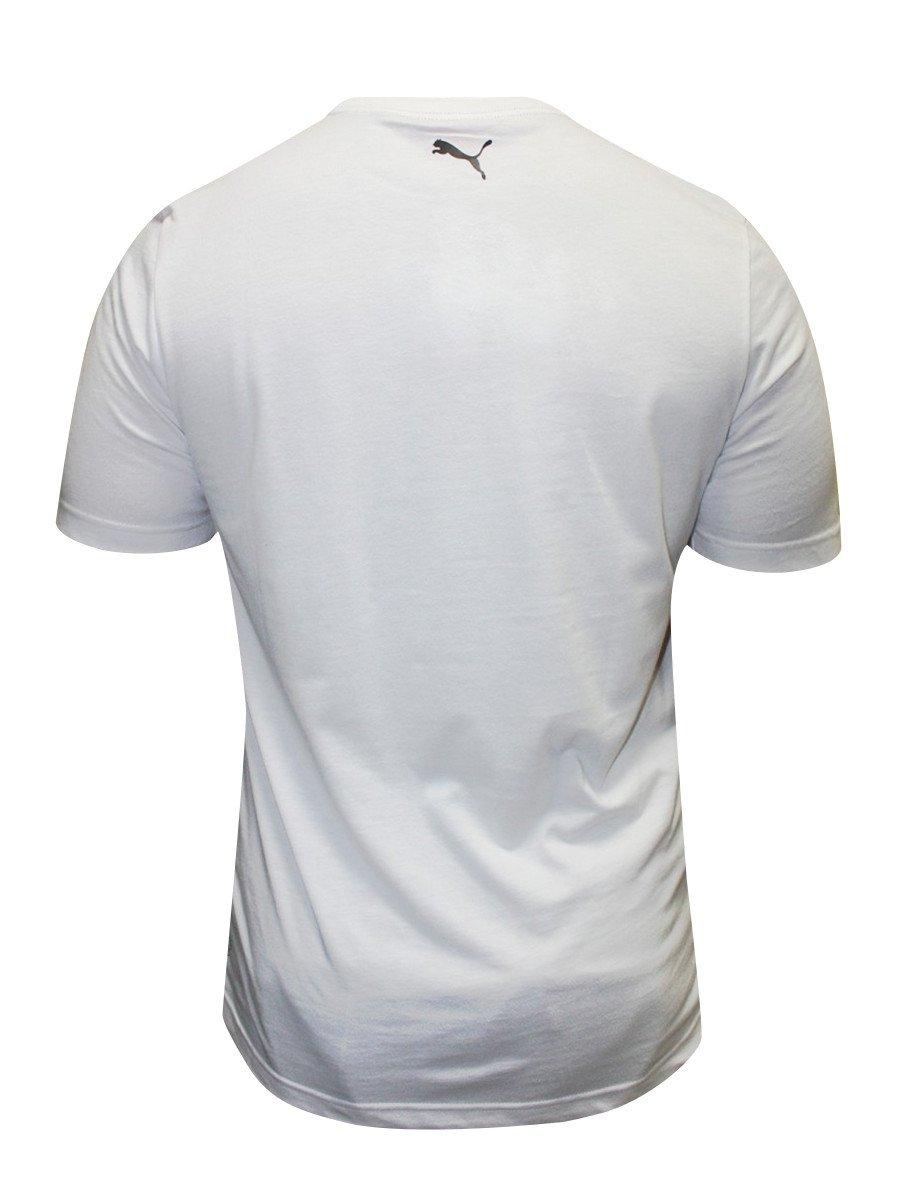 Buy T Shirts Online Puma White Round Neck T Shirt