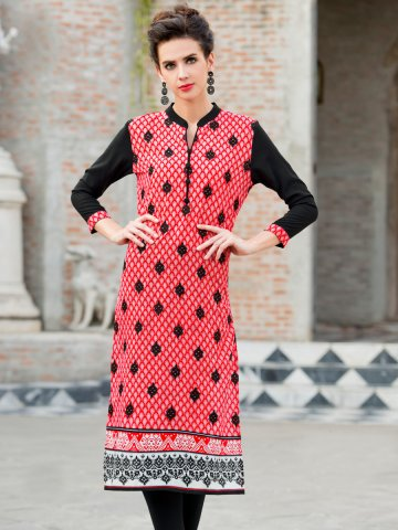 https://static2.cilory.com/193705-thickbox_default/ibis-coral-red-black-cotton-printed-kurti.jpg