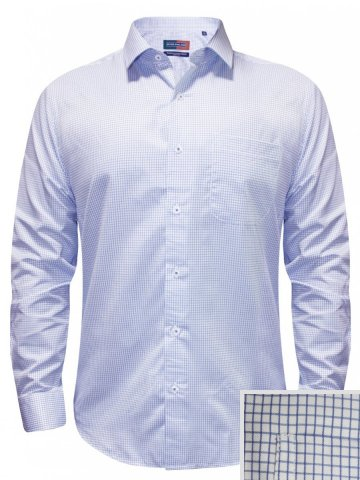 Peter England Blue Formal Checks Shirt at cilory
