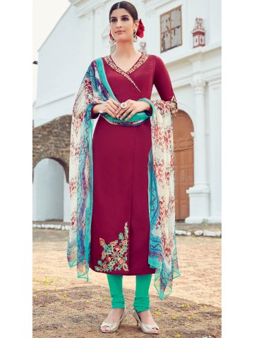 https://d38jde2cfwaolo.cloudfront.net/201528-thickbox_default/heer-maroon-sea-green-embroidered-semi-stitched-suit.jpg