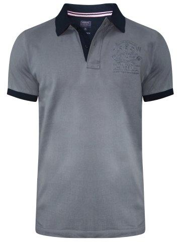 Buy T-shirts Online | Arrow Grey Polo T-shirt | Akts3404 | Cilory.com