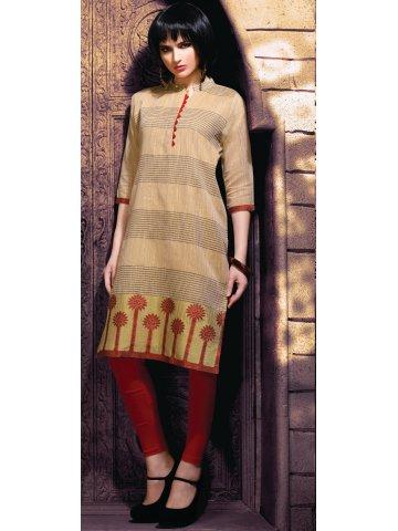 https://static1.cilory.com/256759-thickbox_default/shagun-light-brown-chanderi-cotton-kurti.jpg