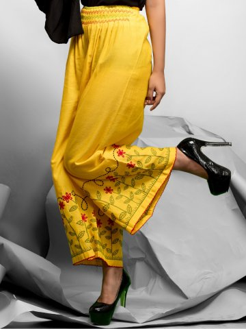 https://static5.cilory.com/257741-thickbox_default/exotic-series-yellow-cotton-linen-palazzo.jpg