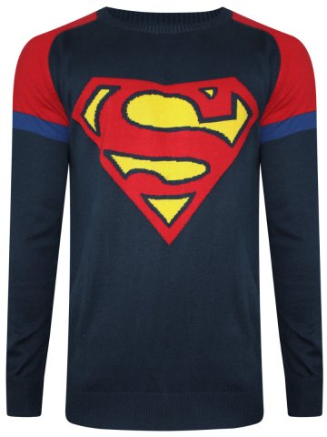 https://static3.cilory.com/275749-thickbox_default/superman-dress-blue-round-neck-sweater.jpg