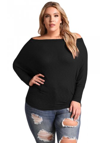 https://static9.cilory.com/316773-thickbox_default/black-plus-size-off-shoulder-ribbed-knit-top.jpg