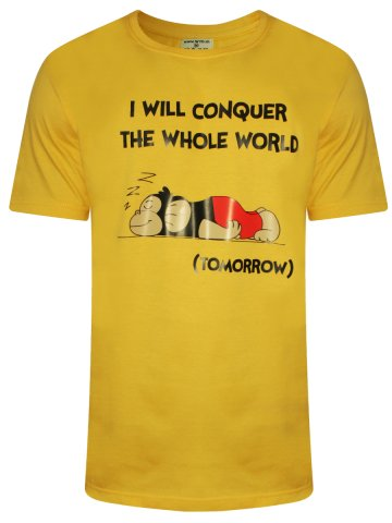 https://static.cilory.com/318469-thickbox_default/wyo-conquer-the-world-yellow-crew-neck-t-shirt.jpg