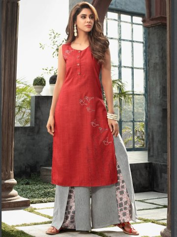 https://static5.cilory.com/326580-thickbox_default/brightred-kurti-with-palazzo.jpg