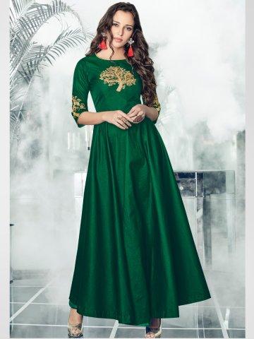 https://static3.cilory.com/354645-thickbox_default/arihant-bottle-green-gown-style-kurti.jpg