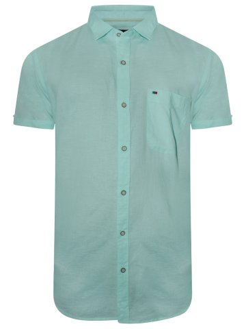https://static4.cilory.com/366650-thickbox_default/peter-england-crystal-blue-cotton-linen-shirt.jpg