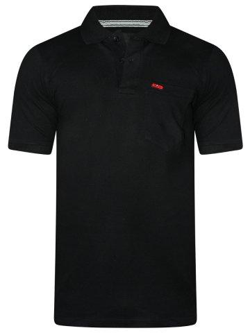 Monte Carlo Cloak & Decker Black Polo T Shirt at cilory
