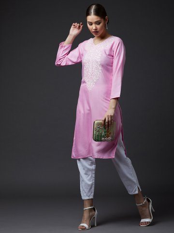 https://static3.cilory.com/380360-thickbox_default/pink-v-neck-embroidered-kurti.jpg