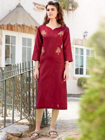 https://static9.cilory.com/385889-thickbox_default/red-khadi-cotton-embroidered-kurta.jpg