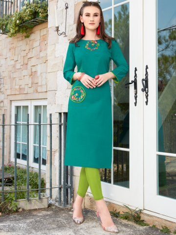 https://static6.cilory.com/385910-thickbox_default/green-cotton-slub-embroidered-kurta.jpg