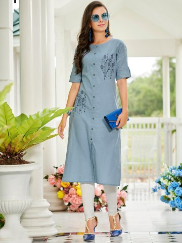 https://static5.cilory.com/392288-thickbox_default/100-miles-light-blue-embroidered-cotton-kurti.jpg