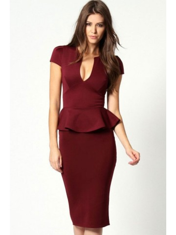 https://static7.cilory.com/39356-thickbox_default/noble-v-neck-midi-peplum-dress-claret.jpg