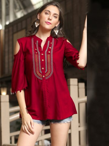 https://static5.cilory.com/396889-thickbox_default/maroon-cold-shoulder-sleeves-top.jpg