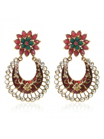https://static8.cilory.com/39802-thickbox_default/elegant-polki-work-earrings-engraved-with-meena-and-beads.jpg