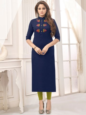 https://static9.cilory.com/399478-thickbox_default/navy-blue-embroidered-cotton-kurti.jpg