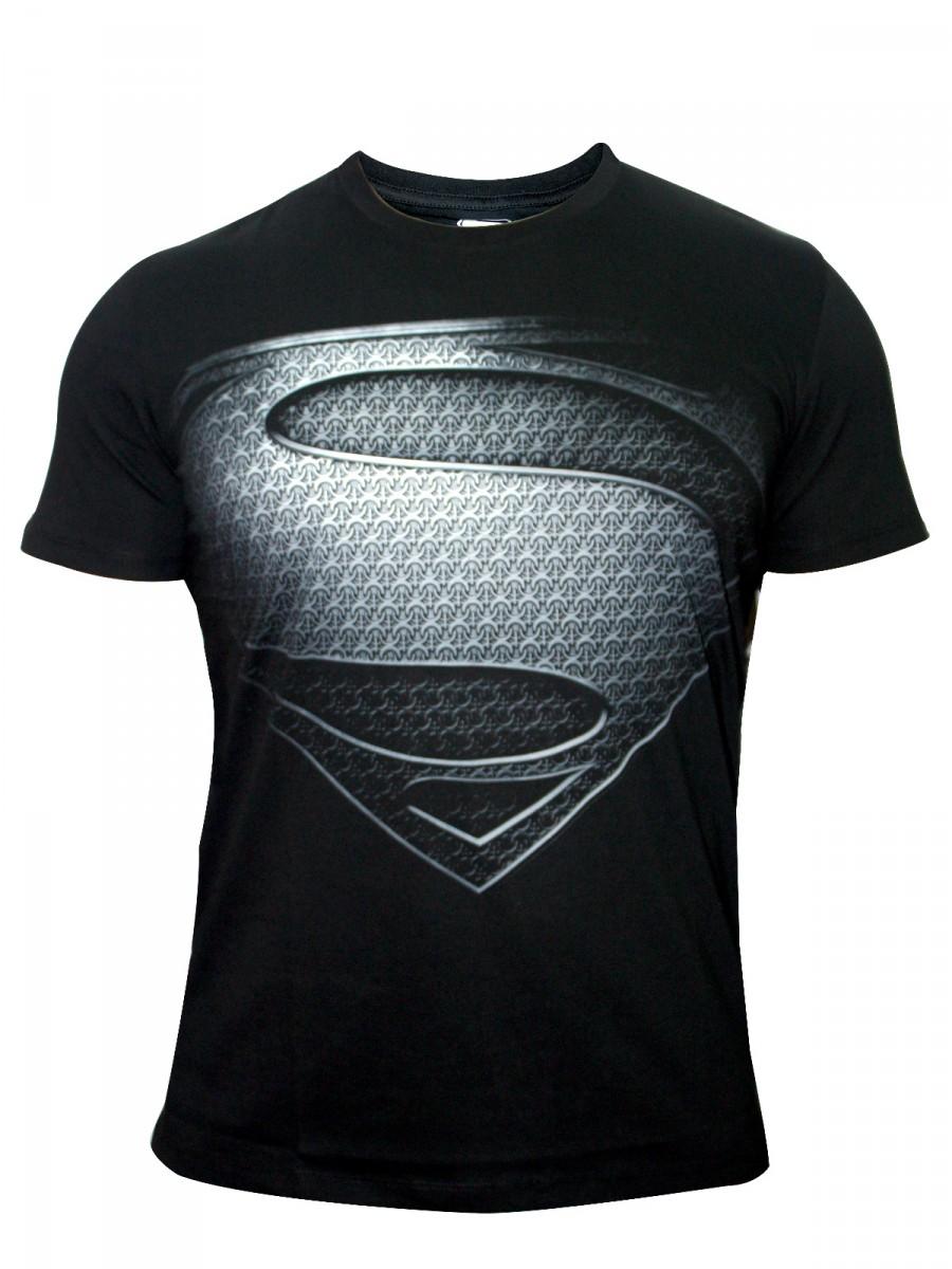 Buy T-shirts Online | Superman Big Logo Black Tees | Bio-505 ...