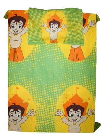 https://d38jde2cfwaolo.cloudfront.net/76060-thickbox_default/chhota-bheem-single-bed-sheet-with-pillow-cover.jpg