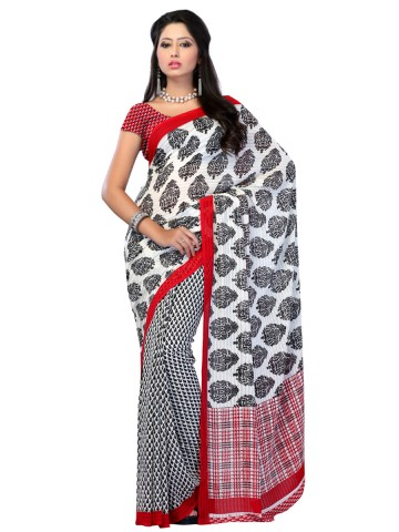 https://static8.cilory.com/89823-thickbox_default/jaipur-kurti-s-exotic-white-and-black-renial-saree-paired-with-blouse.jpg