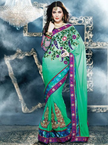 https://static8.cilory.com/92697-thickbox_default/gitaanjali-embroidered-green-saree.jpg